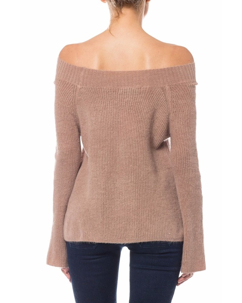 olivaceous olivaceous acolbie sweater
