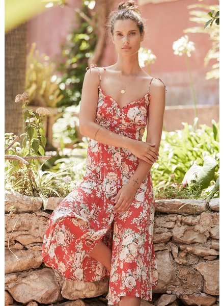 auguste the label reverie juliette midi dress