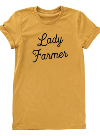 Nature Supply Co lady farmer tee