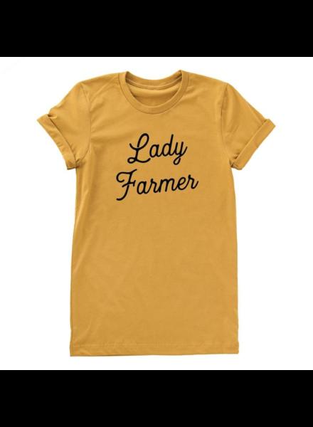 lady farmer tee