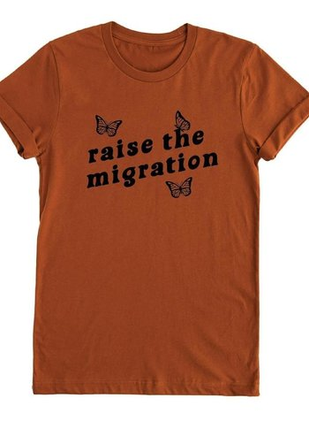 Nature Supply Co raise the migration tee