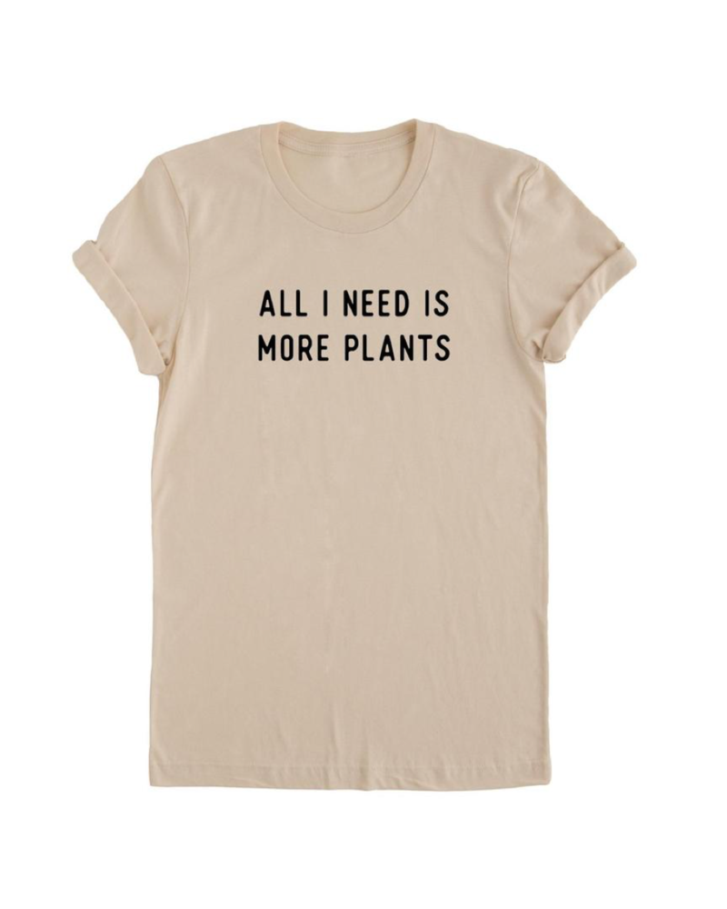 nature supply more plants tee