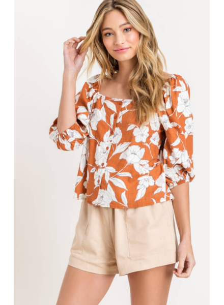 lush maribel top