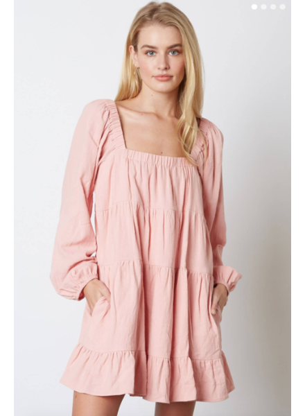 cotton candy sylvie dress