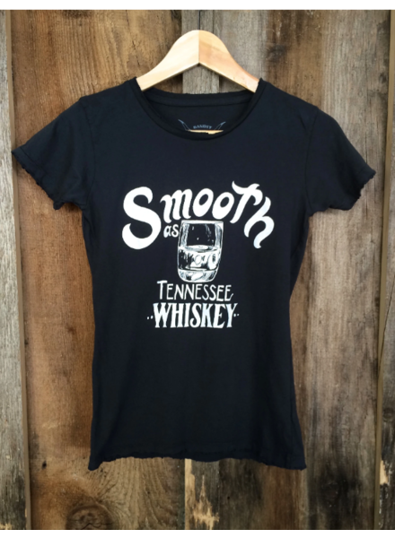 bandit brand smooth as tennessee whiskey tee