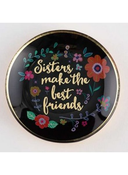 natural life best friends glass tray