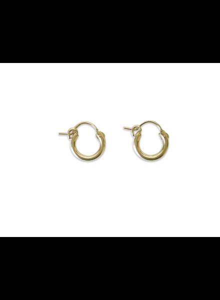 erin fader 12mm hoop earrings gold