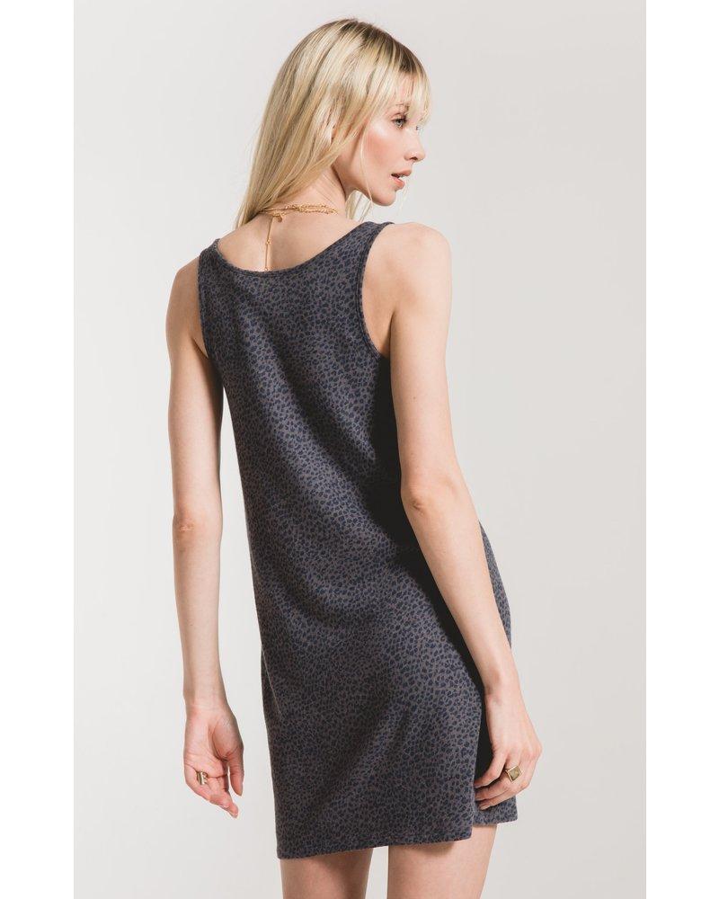 z supply z supply mini leopard dress