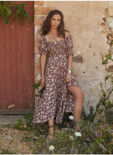 auguste the label matilda nina midi dress