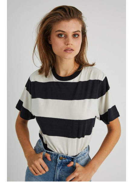 rollas tomboy big stripe tee