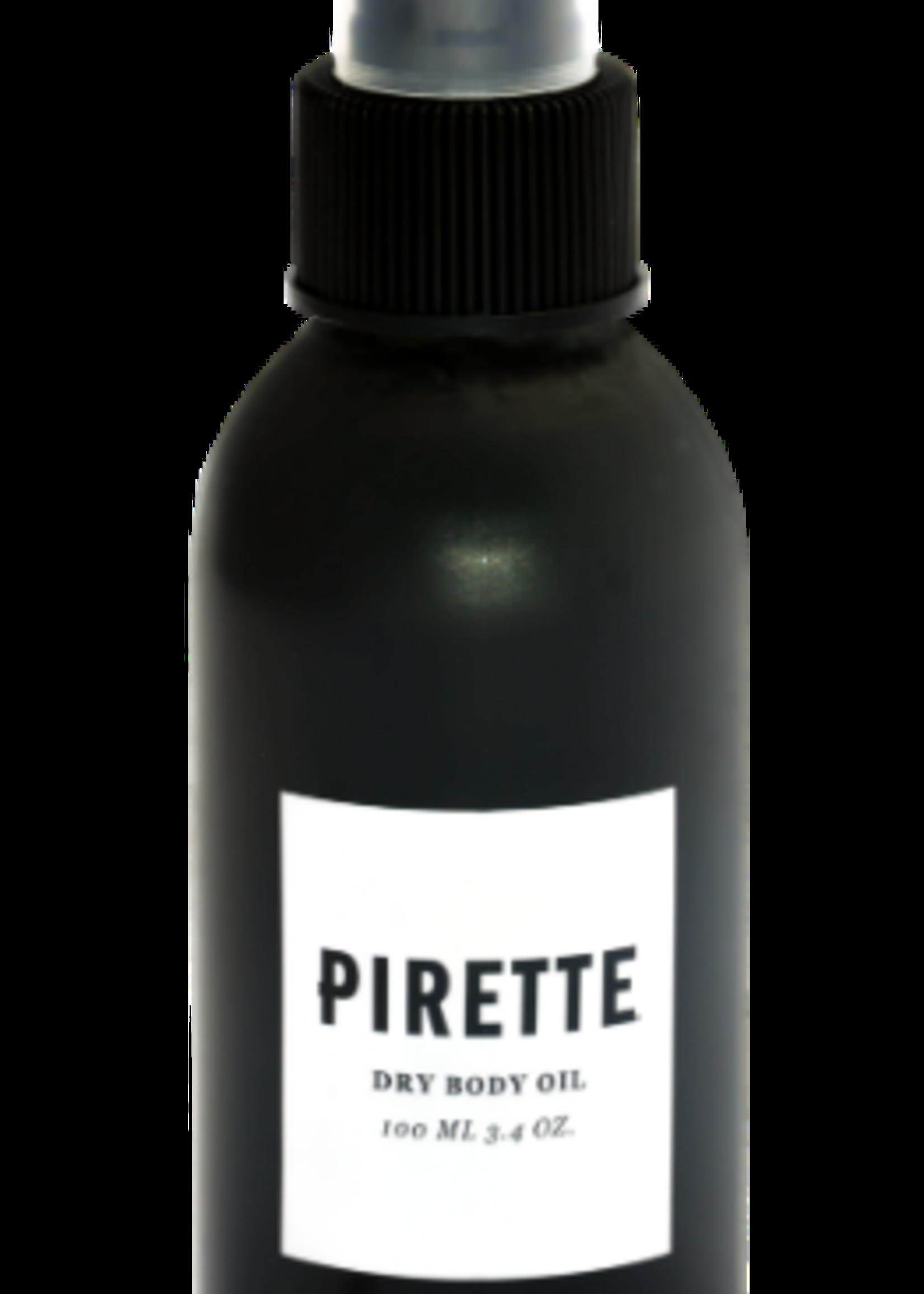 pirette dry body oil