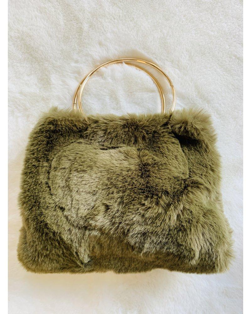 brady fur bag