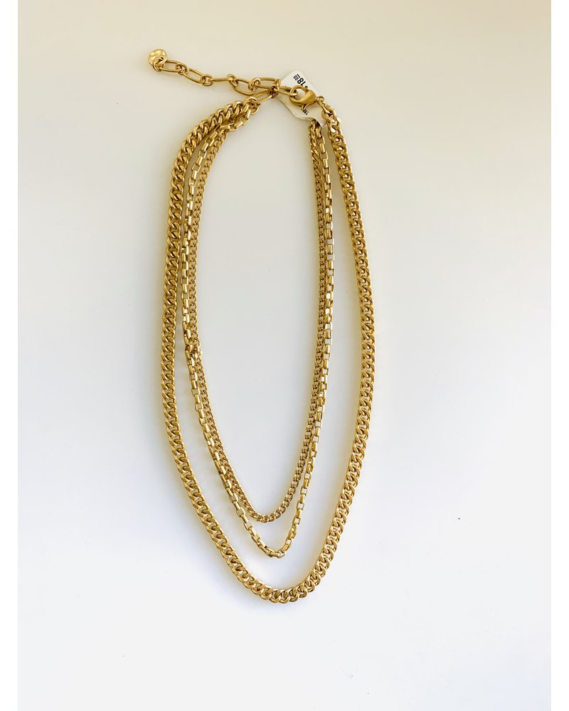 1801 gold necklace