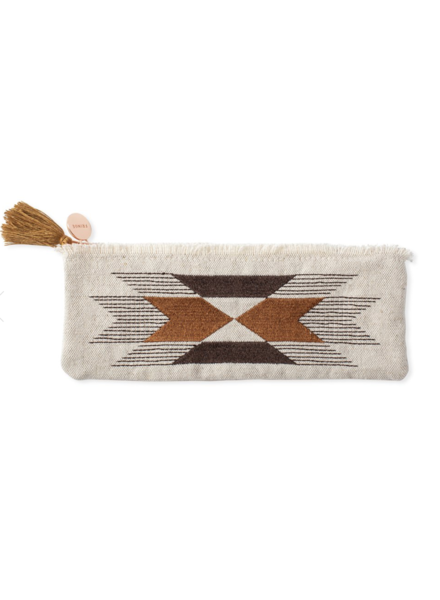 fringe studio stitched arrow pouch