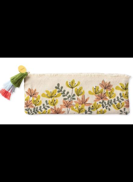 fringe studio spring floral pouch