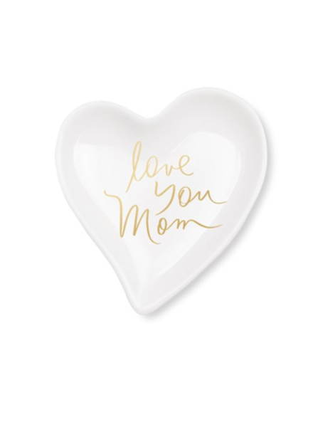 fringe studio fringe studio love you mom heart tray