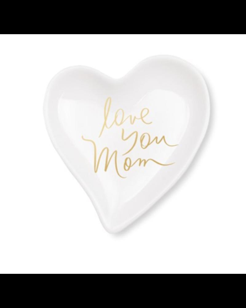 fringe studio fringe studio love you mom heart tray