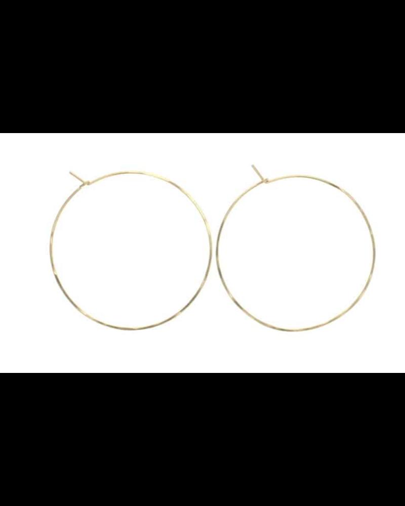 lotus jewelry studio lotus round hoop earrings