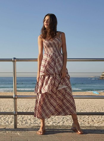 auguste the label sloane lise maxi dress