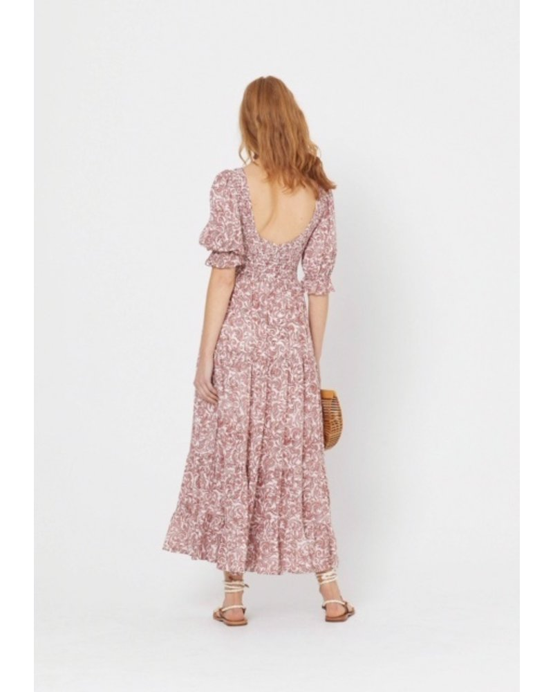 auguste the label auguste freya lise sleeved maxi dress