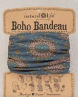 natural life natural life boho bandeau sage/gold
