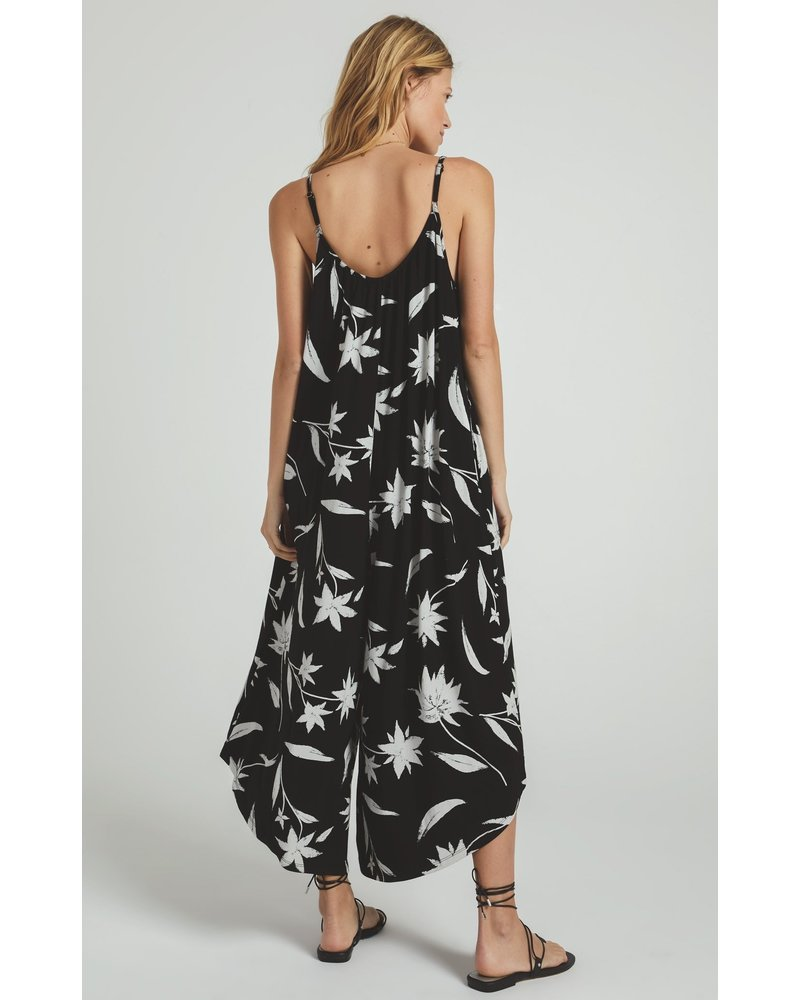 z supply z supply tai floral jumpsuit
