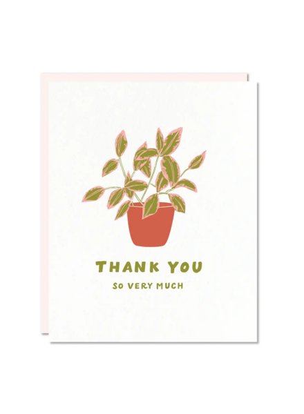 odd daughter paper company thank you card