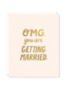 odd daughter paper company odd daughter omg getting married card