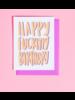 """craft boner """"happy F* birthday"""""""