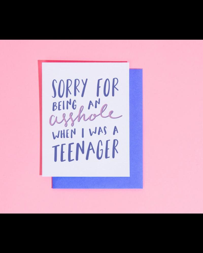 "craft boner ""A**hole teenager"""