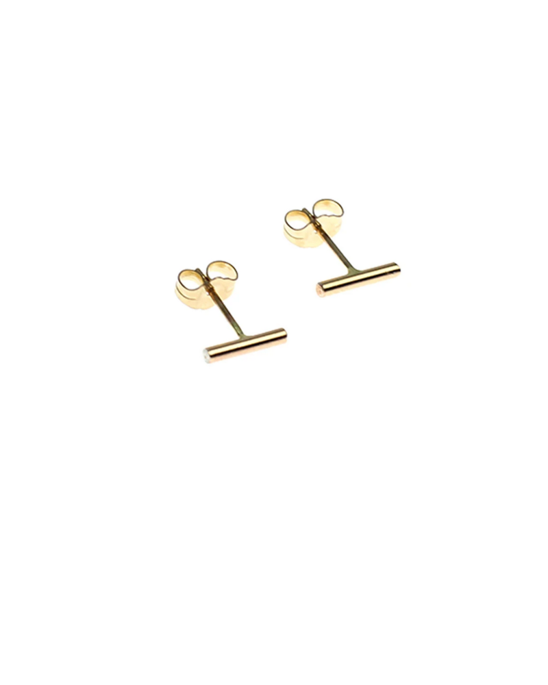 nashelle sticks & stones earrings gold