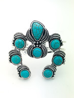 turquoise U bracelet