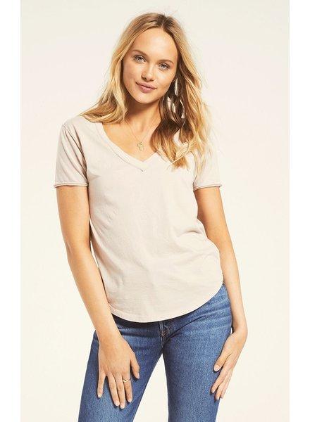z supply organic cotton v neck tee