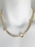gold butterfly choker/necklace
