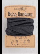 natural life natural life heathered charcoal boho bandeau