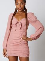 cotton candy newman dress