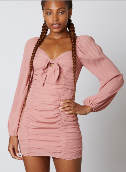 cotton candy newman dress
