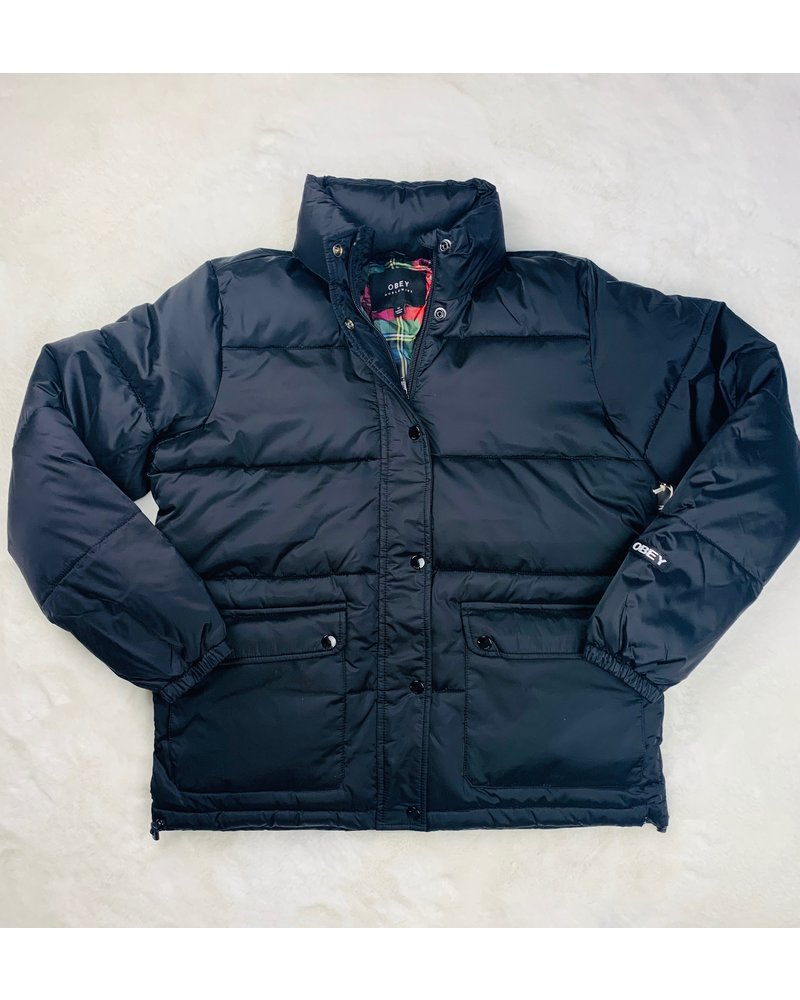 obey irving puffy coat