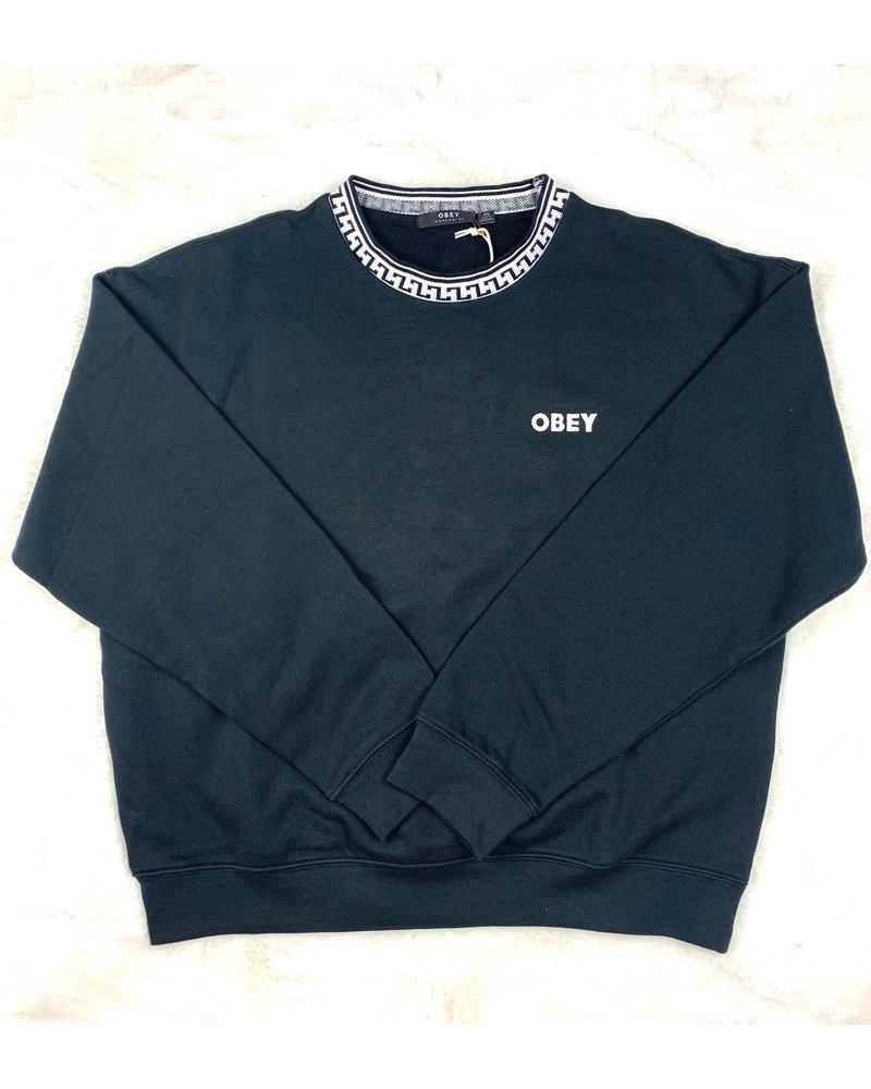 obey regina crew sweater