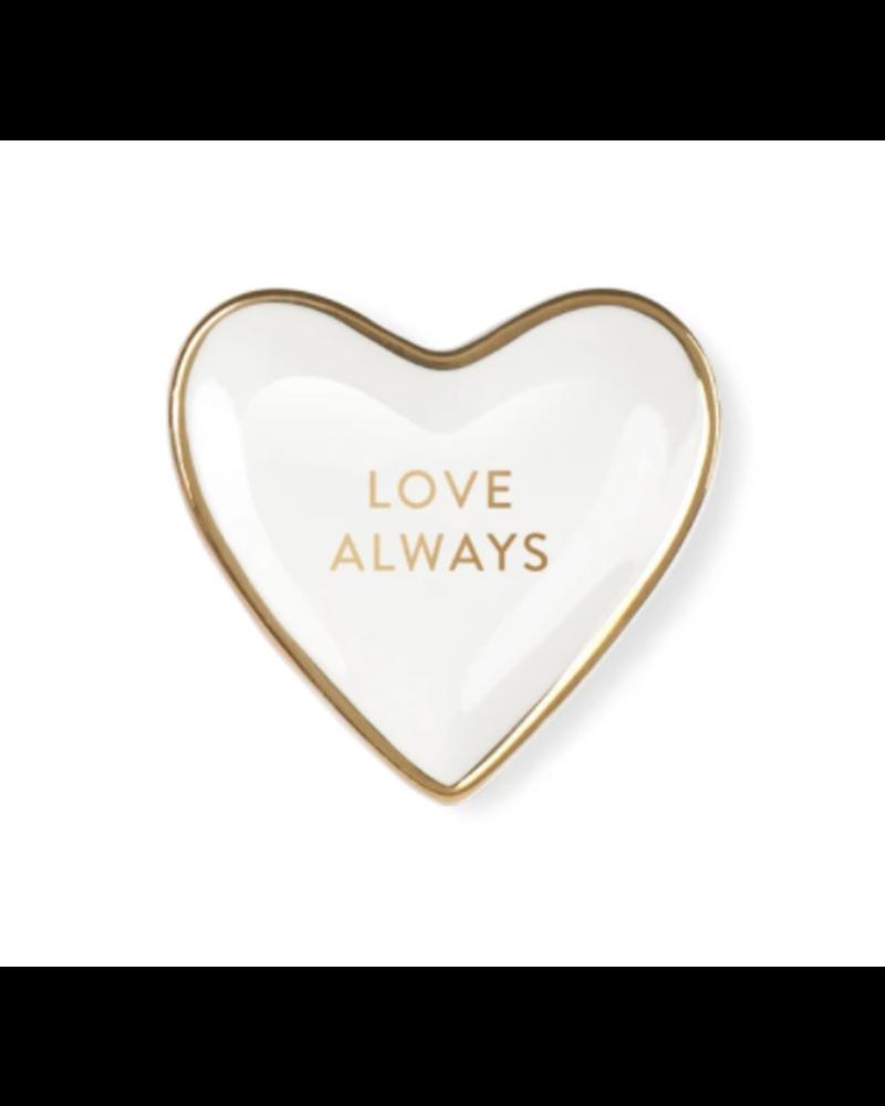 fringe studio fringe studio love always tiny heart tray