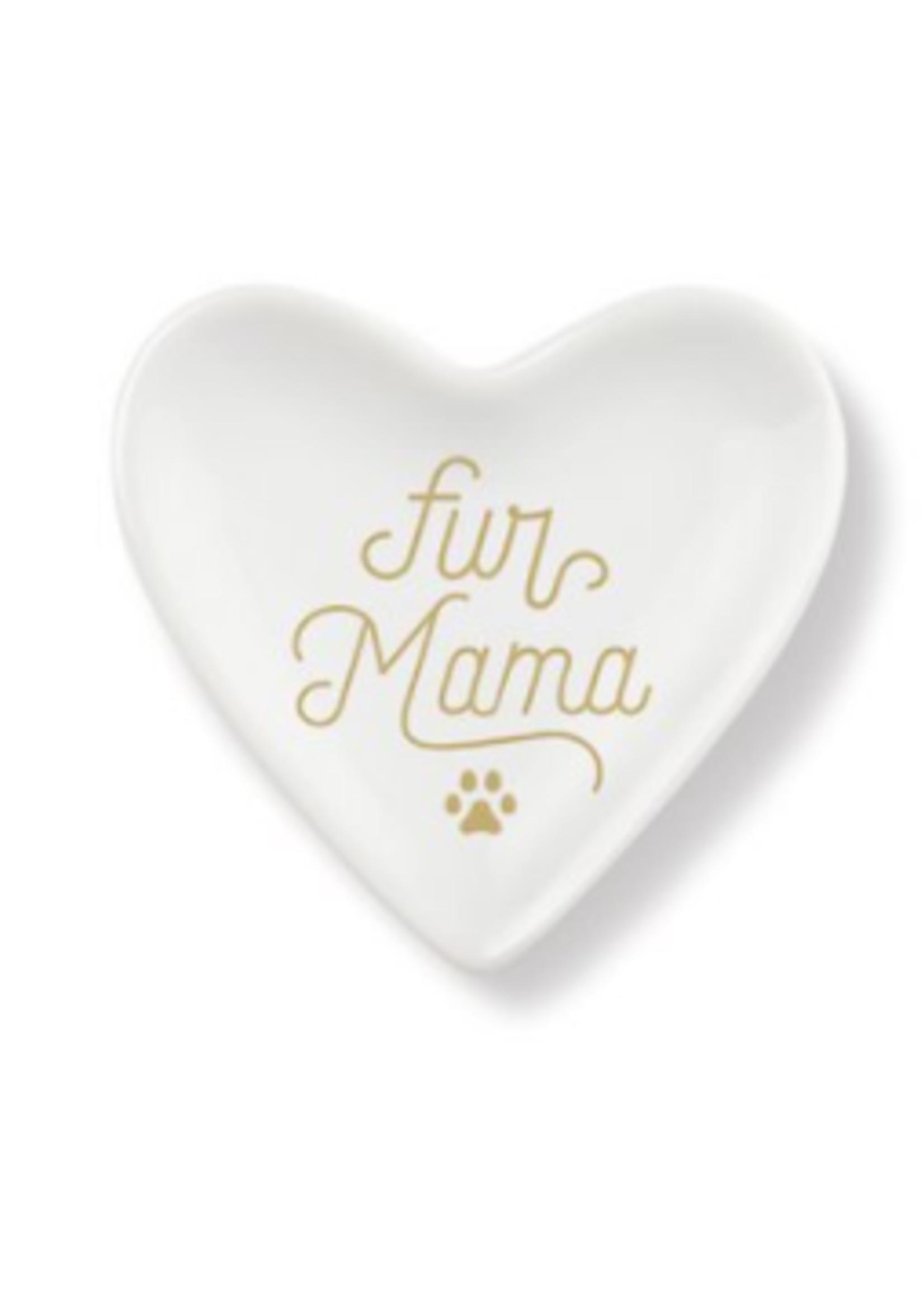 fringe studio fringe fur mama heart tray