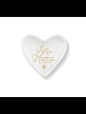 fringe studio fur mama heart tray