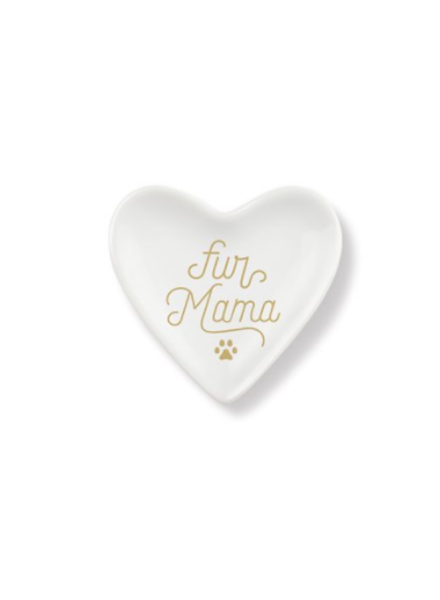 fringe studio fur mama heart tray