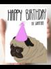 debbie draws funny happy birthday or whatever card