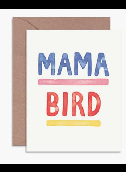 daydream prints mama bird card
