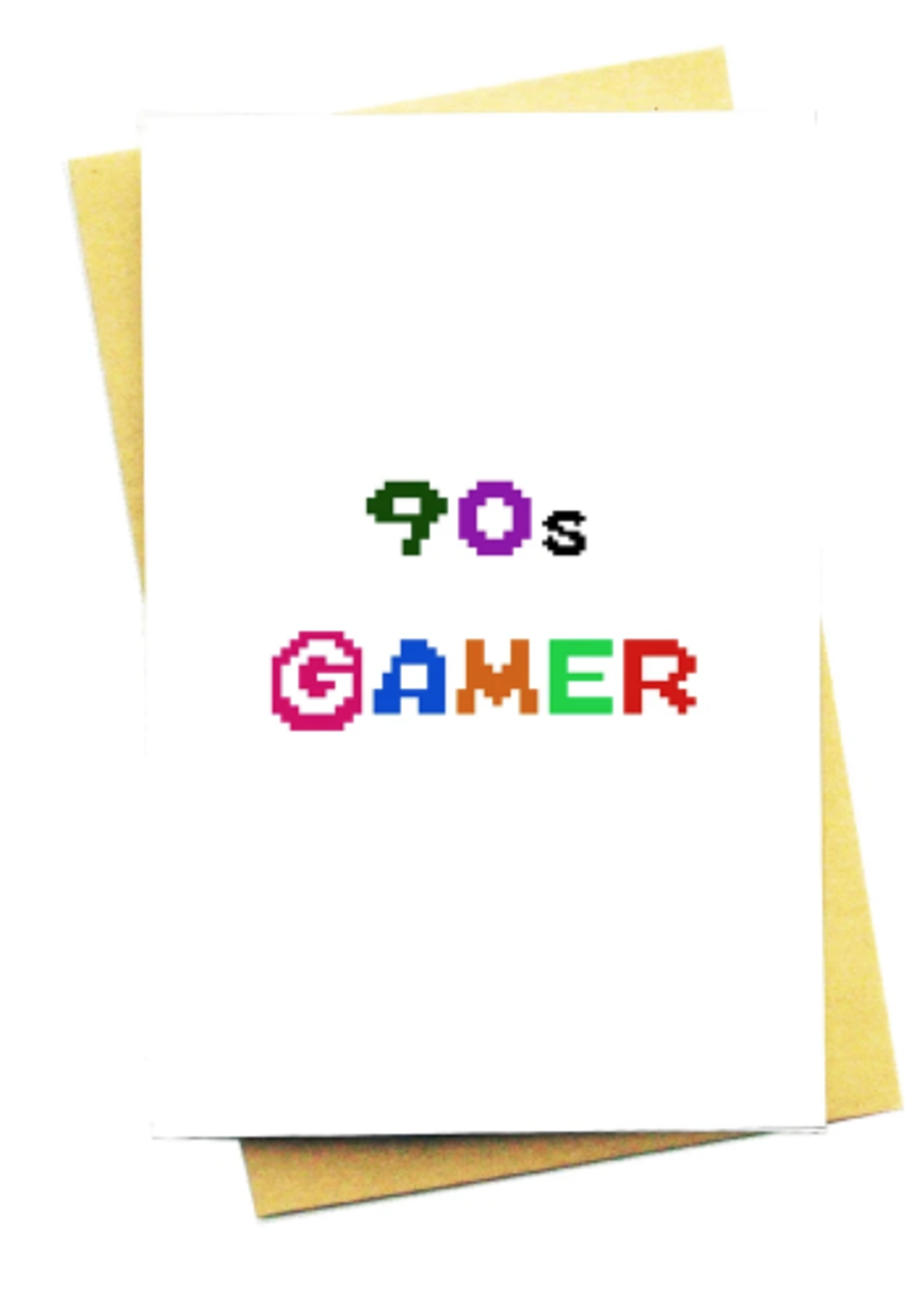 nocturnal paper 90s gamer card