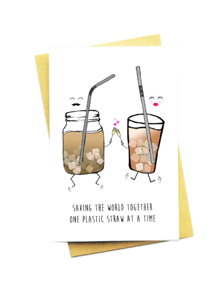 saving the world together card