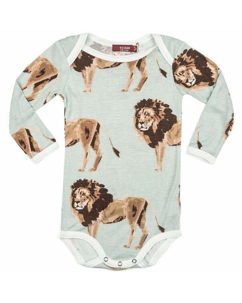 milkbarn milkbarn lion l/s one piece