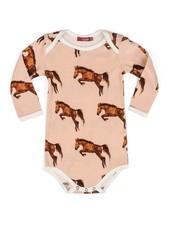 milkbarn horse l/s one piece