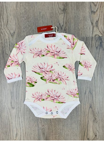 milkbarn water lily l/s one piece
